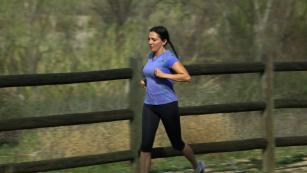Trafficking survivor runs to raise awareness