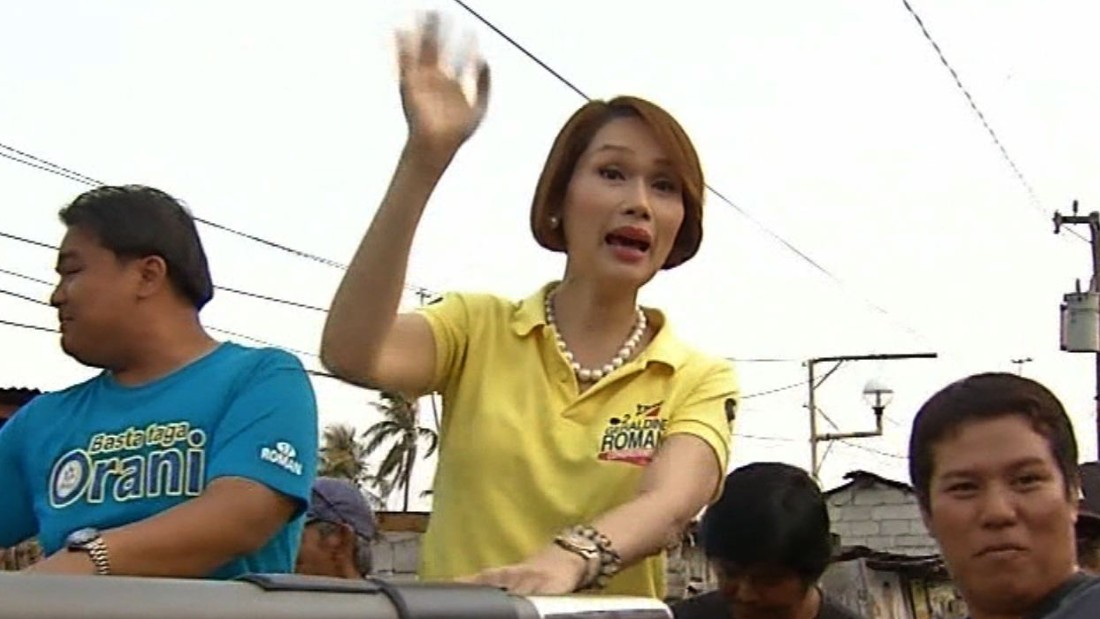 Philippines elects its first  transgender politician