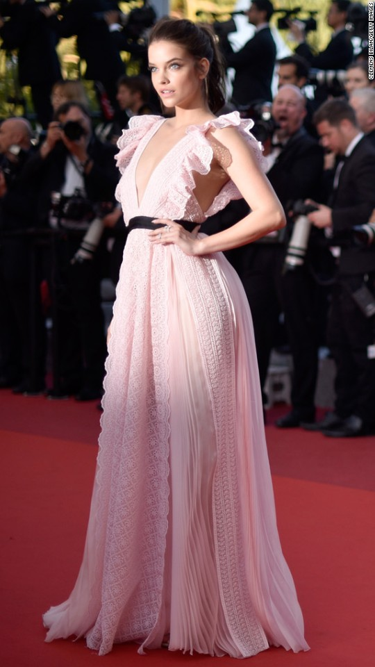 Cannes 2016 red carpet - Barbara palvin red carpet ...