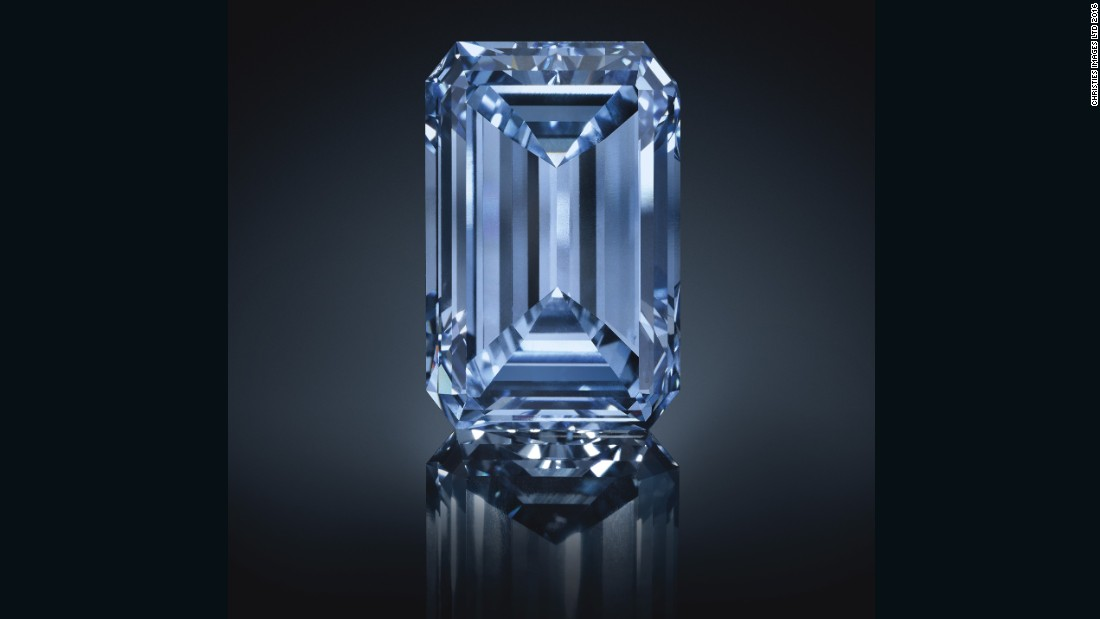 Sold World S Most Expensive Diamond Cnn Com