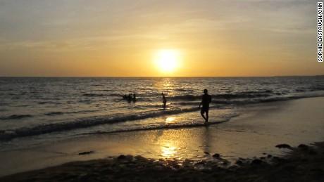 Mbour sunset