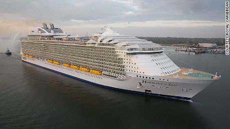 Harmony of the Seas, world's largest cruise ship