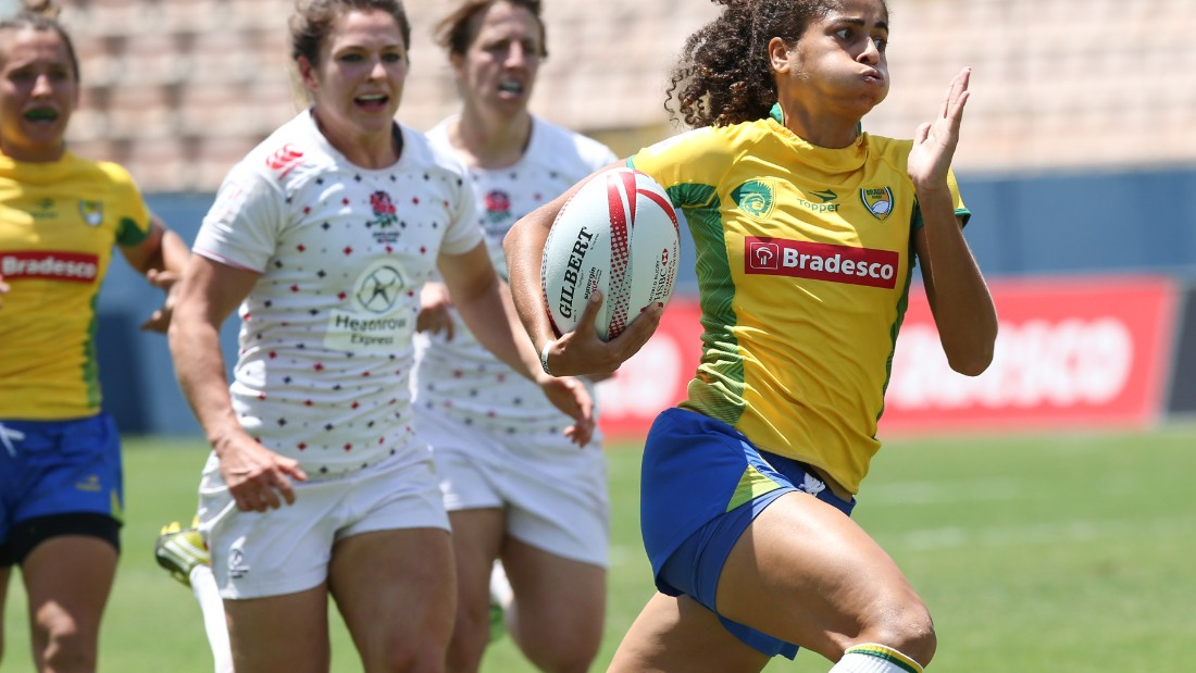 Bianca Silva has been one of the success stories of the project -- the teenager has forced her way into the Brazilian sevens international setup.