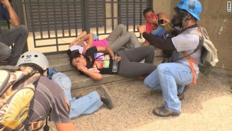 cnnee pkg osmary hernandez marchas de la oposición detenidas venezuela _00031927