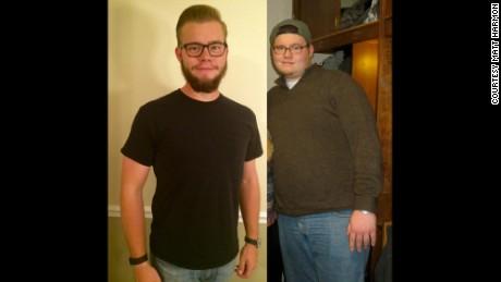 100 -pound Weight Loss Helps 'broken' Man Rebuild