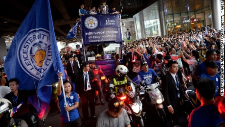 Leicester City: How Foxes and their fans painted Bangkok blue