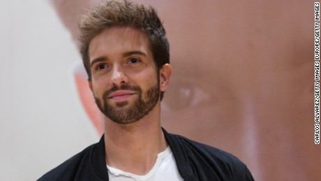 "MADRID, SPAIN - NOVEMBER 11:  Spanish singer Pablo Alboran presents his new album ""Terral"" at the Royal Theater on November 11, 2014 in Madrid, Spain.  (Photo by Carlos Alvarez/Getty Images)"