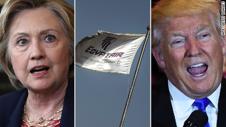 What EgyptAir tells us about Clinton, Trump