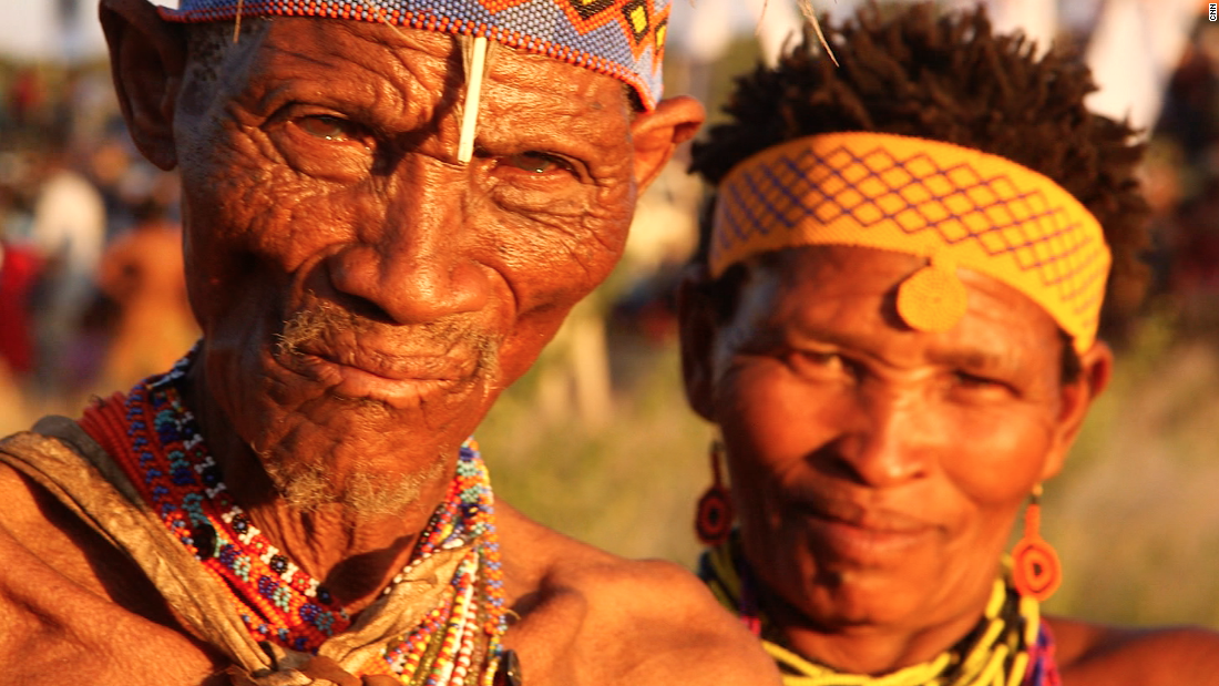 The San are an indigenous people who live in Southern African nations. DNA testing has shown that they are direct descendants of the first Homo sapiens, and have lived in the region for around 20,000 years.