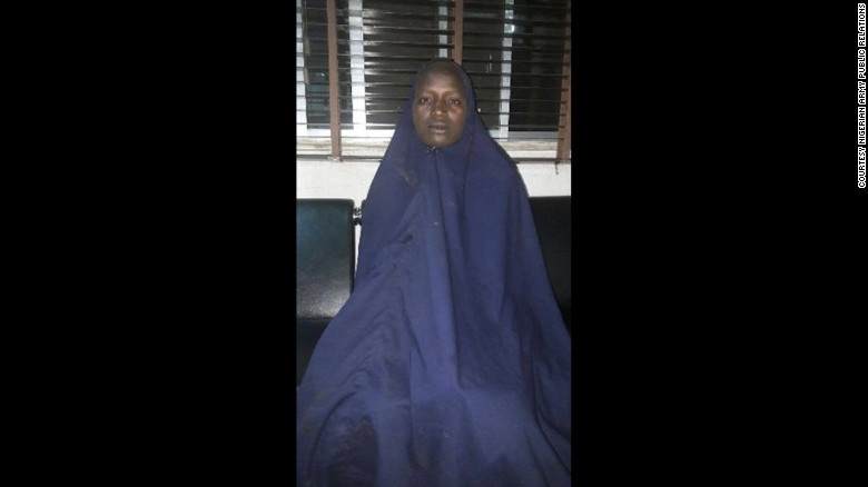 Another girl taken by Boko Haram reappears