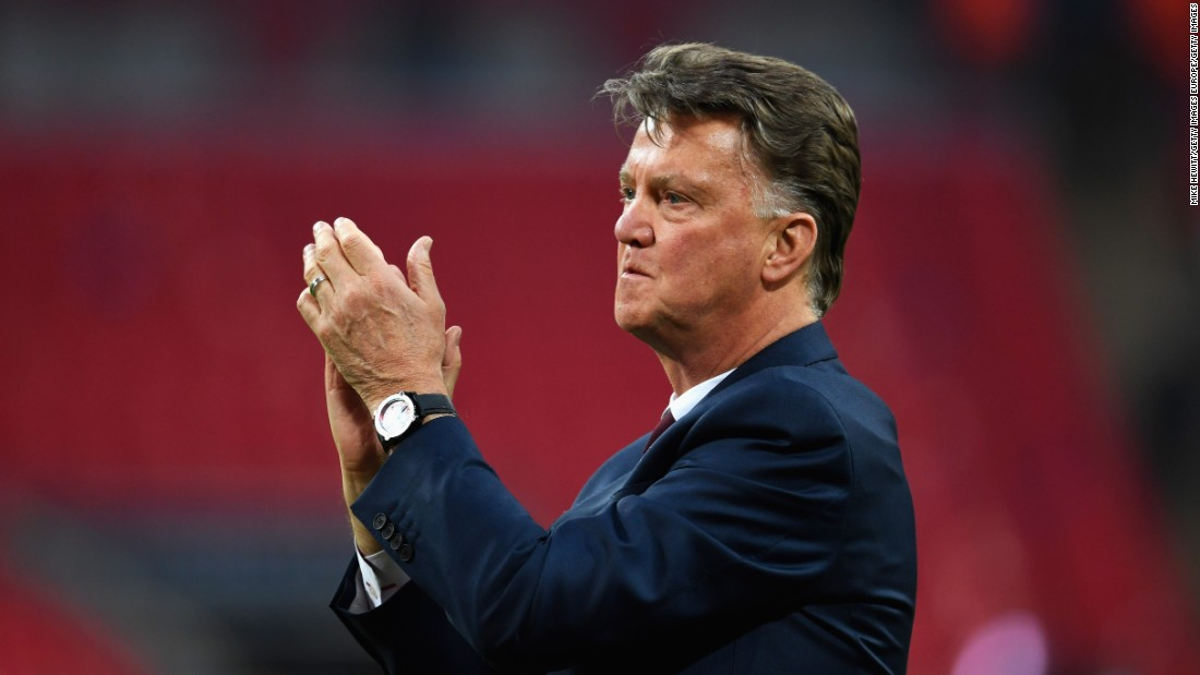 Van Gaal was unable to avoid the sack after failing to secure qualification for next season's Champions League. United had crashed out at the group stage of the competition earlier in the season.