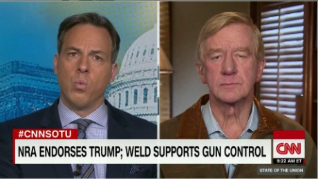 Weld seeks 'common ground' on guns_00001807.jpg