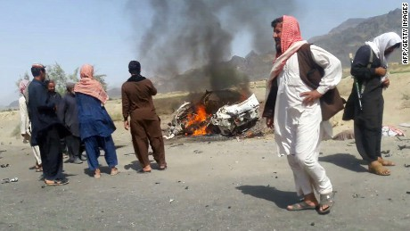 Related video: Taliban confirm leader killed in U.S. airstrike