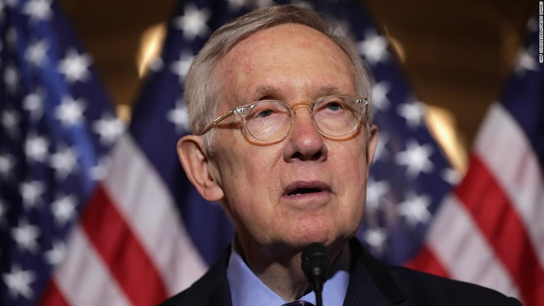 Senate Minority Leader Harry Reid