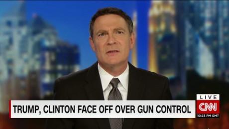 exp Trump, Clinton Face Off Over Gun Control_00000326