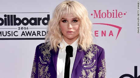 LAS VEGAS, NV - MAY 22:  Recording artist Kesha attends the 2016 Billboard Music Awards at T-Mobile Arena on May 22, 2016 in Las Vegas, Nevada.  (Photo by David Becker/Getty Images)