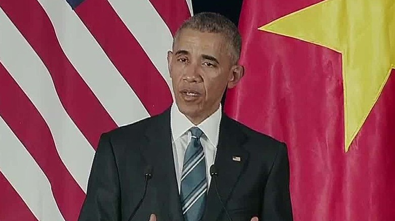 Obama: U.S. lifting ban on lethal arm sales to Vietnam