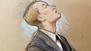 Edward Nero sobbed after the verdict was read.