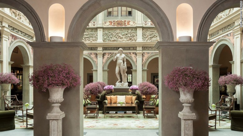 Four Seasons Florence: Unabashed opulence.