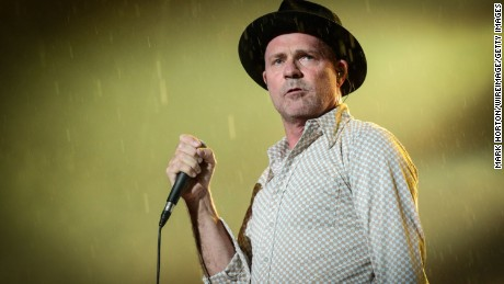 Gord Downie of The Tragically Hip is considered one of Canada's most charismatic singers.
