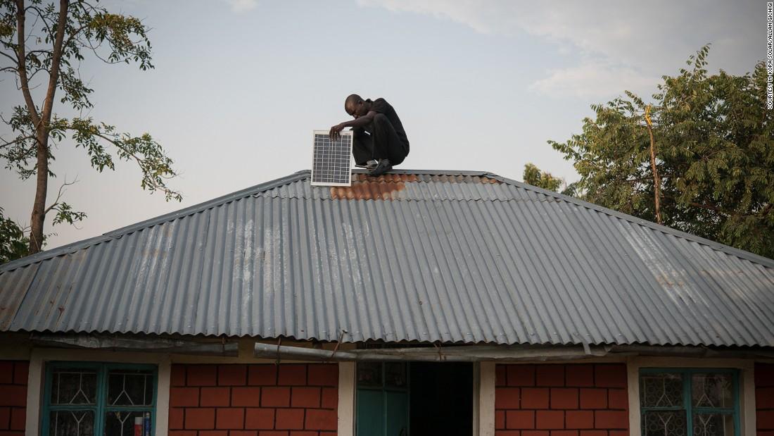Kenyan Company M Kopa Launches Solar Powered Tv Cnn Com