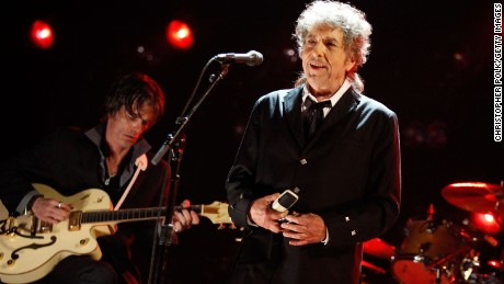 HOLLYWOOD, CA - JANUARY 12:  Musician Bob Dylan performs onstage during the 17th Annual Critics' Choice Movie Awards held at The Hollywood Palladium on January 12, 2012 in Los Angeles, California.  (Photo by Christopher Polk/Getty Images   for VH1)
