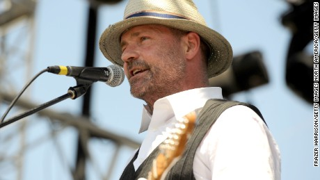 INDIO, CA - APRIL 17:  Musician Gordon Downie performs during Day 3 of the Coachella Valley Music & Arts Festival 2011 held at the Empire Polo Club on April 17, 2011 in Indio, California.  (Photo by Frazer Harrison/Getty Images)