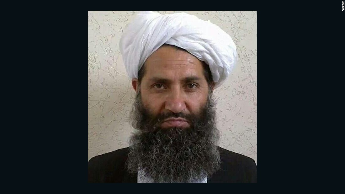 Mawlawi Haibatullah Akhunzada, named the new Afghan Taliban leader following the death of Mullah Akhtar Mohammad Mansour, is in his late 50s and comes from Panjwai district of southern Kandahar province.