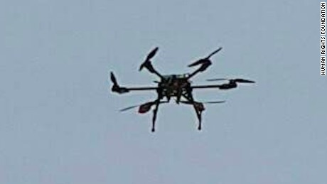 Activists say they're using multiple drones to deliver media, SD cards and flash drives to North Korea.