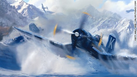 Though his squad had been ordered not to attempt any rescues of American pilots who had been shot down, Tom Hudner ignored that command and crash-landed into a mountain clearing to save his friend, Jesse Leroy Brown.