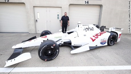 """Rev. Will Marotti founded Marotti Racing in 2015. Working with Schmidt Peterson Motorsports, Marotti has entered a car in the 100th running of the Indy 500. Marotti is believed to be the first """"active minister"""" leading a team to race at the Brickyard."""