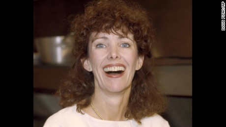 """FILE - This 1984 file photo shows actress Beth Howland. Howland, who was best known for her role as a ditzy waitress Vera Louise Gorman on the 1970s and '80s CBS sitcom """"Alice"""" died Dec. 31, 2016 in Santa Monica, Calif. She was 74. (AP Photo/Doug Pizac, File)"""