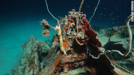 World War II Bomber Found Pacific