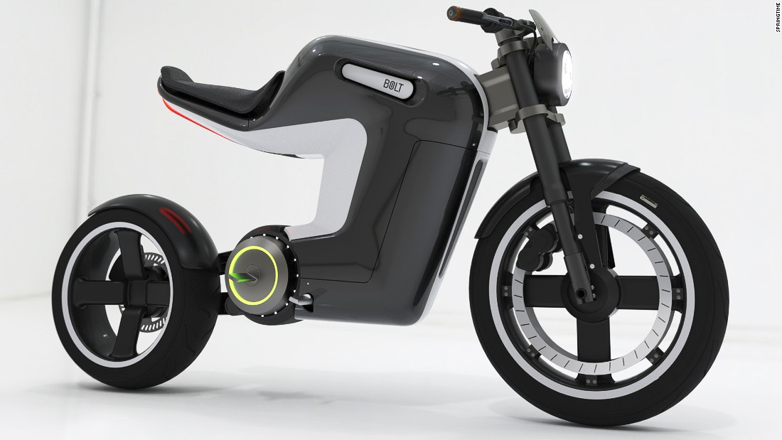 "Another concept for an e-bike has been created by Dutch-based design company, <a href=""http://springtime.amsterdam"" target=""_blank"">Springtime</a>."