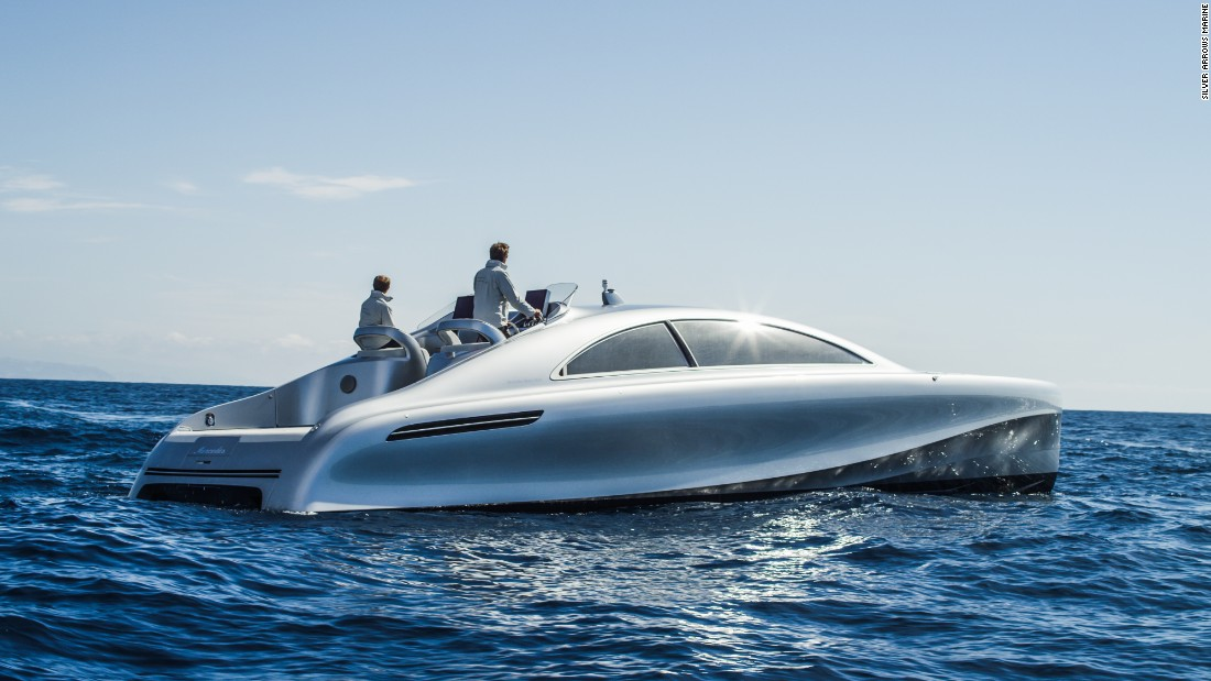 mercedes benz swaps cars for yachts