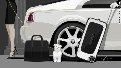 Rolls-Royce luggage