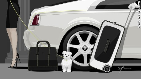 Rolls-Royce luggage