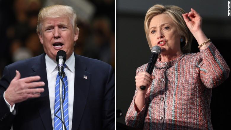 Round 1: Trump vs. Clinton