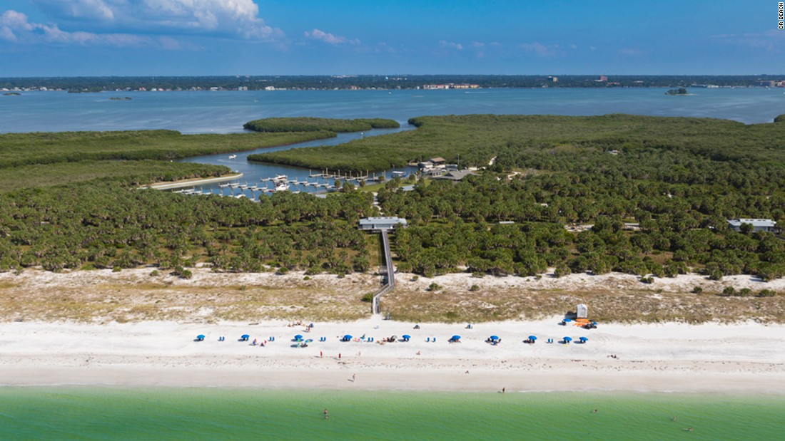 Walk To Caladesi Island From Clearwater Beach