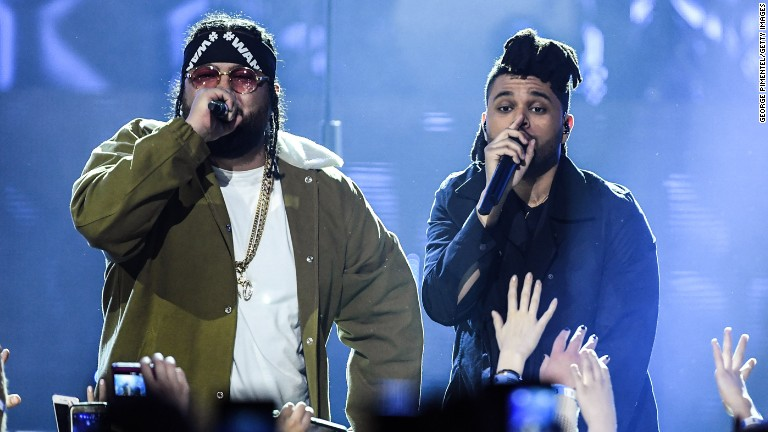 Belly and The Weeknd protest Trump, ditch 'Kimmel'