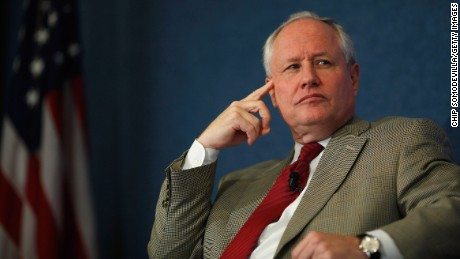 """The Weekly Standard Editor William Kristol leads a discussion on PayPal co-founder and former CEO Peter Thiel's National Review article, """"The End of the Future,"""" at the National Press Club October 3, 2011 in Washington, DC."""