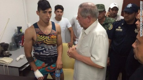 Mexican footballer Alan Pulido was rescued the night after his kidnapping.