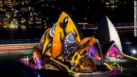 Vivid Sydney 2016, opening night. 27/5/2016