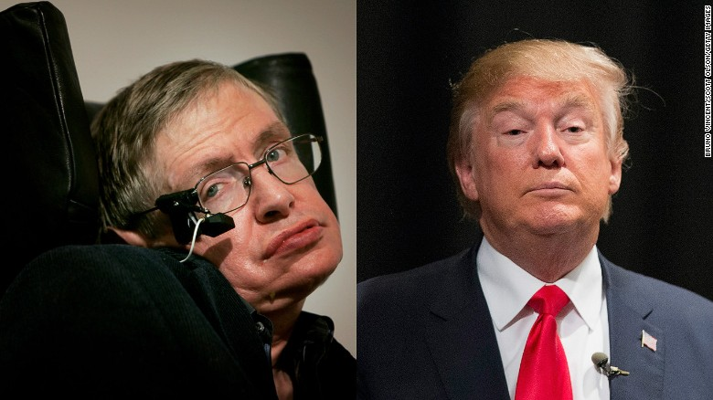 stephen hawking trump is a demagogue jewish news and israel