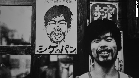 """""""A poster for Shige's bread. We sent Shige out into Regensburg in southeast Germany to learn to make bread for the cafe. Later he became a popular independent bread maker until the Great Hanshin Earthquake in 1995."""""""