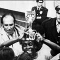 Pele Jules Rimet trophy 1970