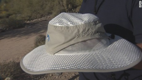 Sun hats made to protect against skin cancer