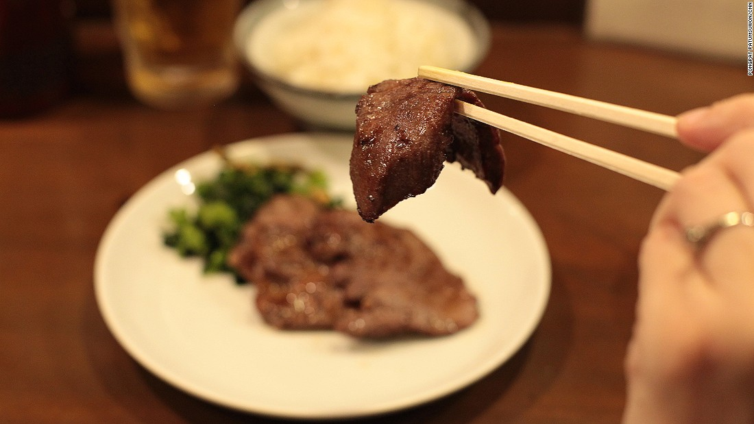 Sendai is said to be the capital and birthplace of gyutan -- grilled slices of beef tongue. It's best served fragrant with buttery grease and has a slightly chewy texture.