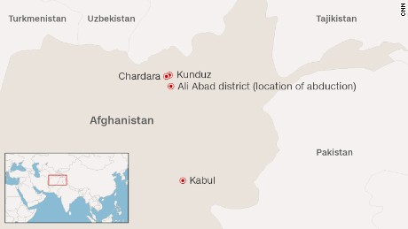 Nearly 200 travelers en route to Kunduz from Kabul were kidnapped in Ali Abad district, and taken to a remote village in Chardara district.