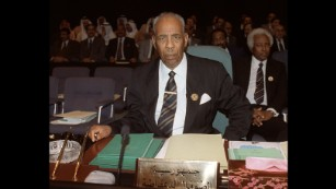 Somali President Mohamed Siad Barre in May 1990.